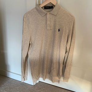 Ralph Lauren long sleeve polo size small men's.